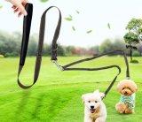 مزدوجة كلب رباط مع مقبض متحمّلة لأنّ 2 كلب يمشي [ترينينغ/كك001]