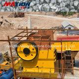 Pequeña trituradora de mandíbula de roca, máquina de minería