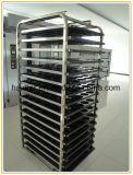 Constructeur de refroidissement fait sur commande de chariot à plateau de crémaillère d'acier inoxydable de boulangerie