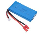 SymaのためのLipo電池7.4V 25c 2000mAh 2500mAh