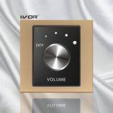 Lautstärkeregler-Schalter im Acrylumreiß-Rahmen (SK-AP100VH; SK-AP100VL)