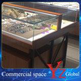ガラスの飾り戸棚(YZ160401)ガラスのショーケースガラス展覧会木キャビネット