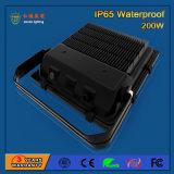 주문을 받아서 만들어진 200W 85-265V SMD3030 옥외 LED 플러드 빛