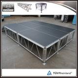 Plataforma portable de aluminio al aire libre todo terreno de la etapa de la mejor venta