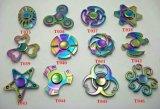 O girador novo da mão do metal com formas da variedade