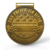 Bjj personalizado Jiu-Jitsu Medalla Premio Internacional de Deporte