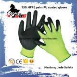 Sicherheits-Handschuh, 13G Hppe Sicherheit geschnittener beständiger Handschuh-Stufen-Grad 3 und 5