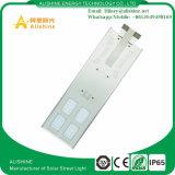 Lumière extérieure à énergie solaire Al-X60 de réverbère de qualité