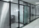 Mur de cloison en verre en aluminium de bureau moderne (NS-NW011)