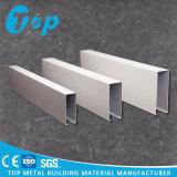 2017 Perfil de aluminio cuadrado y la decoración del techo deflector lineal