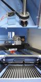 Máquina de gravura da estaca do laser do CNC do CO2 para a borracha acrílica de madeira de papel do MDF