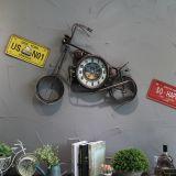 Decorazione dell'orologio di parete del metallo per le barre di caffè, Pubs