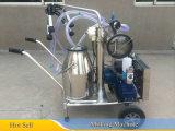 스테인리스 물통 25L를 가진 단 하나 물통 암소 젖을 짜는 기계