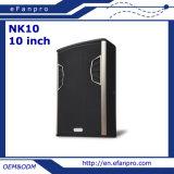 10 Zoll-PROlautsprecher angeschaltenes Fußboden-Monitor-Audio (NK10 - TAKT)