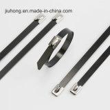Draht-Reißverschluss-Verschluss-Edelstahl-Kabelbinder