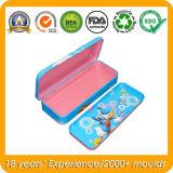 Metallbleistift-Kasten für Kinder, Zinn-Bleistift-Kasten