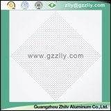 Plaine en aluminium personnalisée de plafond de poudre de jet de plafond