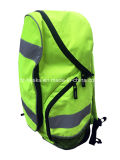Проданный оптом Backpack безопасности выдвиженческой Hi визави желтый предупреждающий отражательный