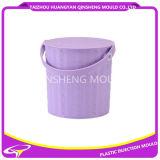 Molde de balde de água plástica com alça