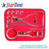 Kit da Barragem de borracha de medicina dentária/instrumentos dentários