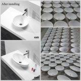 حديثة صلبة سطحيّة غرفة حمّام بالوعة [تبل توب] حوض