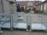 Industrielle Lager-Speicherung gefalteter Stahlrollenmaschendraht-Gestell-Rahmen