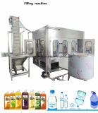 Machine de remplissage assaisonnée par bouteille de la boisson 3in1 de boissons d'animal familier avec la machine de remplissage de boisson de stérilisateur