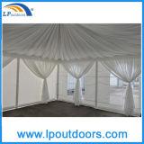 tenda di alluminio della tenda foranea del Pagoda del lusso di 5X5m con un portello di vetro