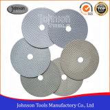 Наружный диаметр 180 мм Diamond полимера белый электрод для полировки камня