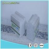 El panel de emparedado incombustible insonoro impermeable del cemento EPS /PU de la fibra