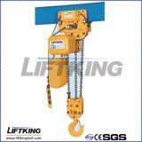 Palan à chaîne électrique standard européen avec clapet de sécurité