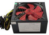 Покрытие черного 400W ATX блок питания ПК с 12см вентилятор системы охлаждения