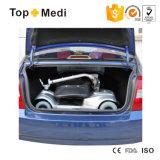 페이지 관제사는 공구 없이 자동차 트렁크 분리가능한 기동성 스쿠터에서 접혔다