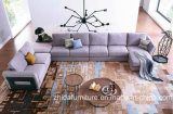Sofá secional grande moderno E1703 ajustado da tela do sofá quente da tela da venda