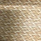 Têxtil de tecelagem de bambu Material de couro de cortiça para sapato (HS-M311)