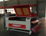 Máquina de escultura a laser de madeira / plástico / acrílico / couro / borracha