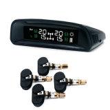 太陽無線手段TPMSのタイヤ空気圧の監視システム+ 4台の内部センサー