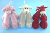 Haustier-Spielzeug-langes Bein-Pony, Lampe, Welpe 3 Asst.