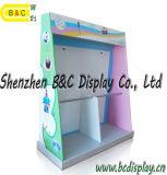 금 공급자 주문품 물결 모양 전시 Stander PDQ Boxwith SGS (B&C-D061)