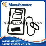 Cojín elástico de silicona de caucho para máquinas