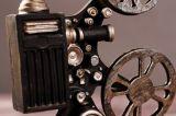 포도 수확 수지 영화 영사기 모형 작은 조상 숫자는 가정 장식을 버틴다