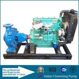 Bomba de água centrífuga elétrica da sução do fim do motor Diesel de único estágio