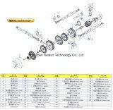 seitliches Gebläse-Luftpumpe-Ring-Gebläse des Kanal-1.5kw für Papierherstellung