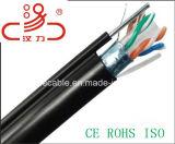 FTP CAT6 напольный с кабелем аудиоего разъема кабеля связи кабеля данным по кабеля кабеля/компьютера посыльного