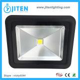 50W 옥수수 속 LED 플러드 빛 검정 색깔 IP65 LED 투광 조명등 빛