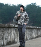 Vestiti militari esterni tattici dell'esercito del rivestimento del Acu Camo Softshell V4.0