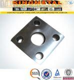 Quadratischer Flansch des Kohlenstoffstahl-Gefäß-ASTM A105