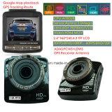 """GPSの受信機、5.0mega車のデジタルビデオレコーダーのカメラ、H264.1080Pのダッシュのカムコーダー、駐車制御カメラが付いている制限速度車DVRを追跡する新しい2.4 """" GPS"""