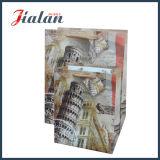 Luxure vende al por mayor las bolsas de papel ULTRAVIOLETA de la impresión de la insignia de encargo barata colorida