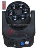 Minibienen-Augen-Träger-Wäsche 4 in 1 hellem 6PCS 15W LED beweglichem Hauptdisco-Licht